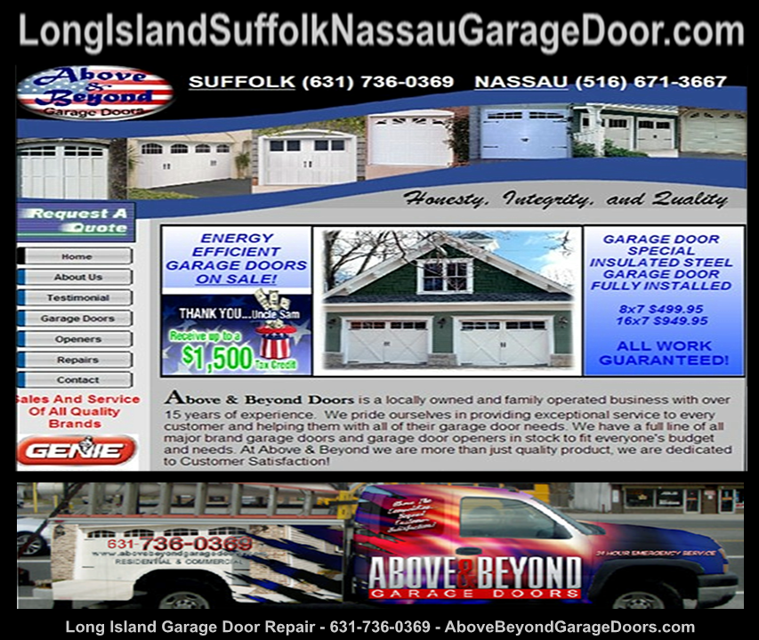 Syosset NY Roller Garage Doors | Syosset NY New Garage Door | Syosset NY: Garage Door Service | Syosset NY Stanley Garage Door Openers | Syosset NY Overhead Door Parts * Above and Beyond Garage Door | Garage Door opener Repair-Wading river-Setauket